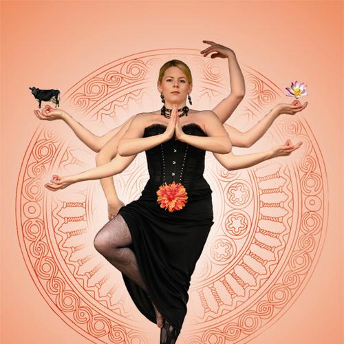 """Nathalie Rex  – mit ihrem Programm """"Diva Shiva"""""""